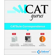 CAT Correspondence Test Series + Material